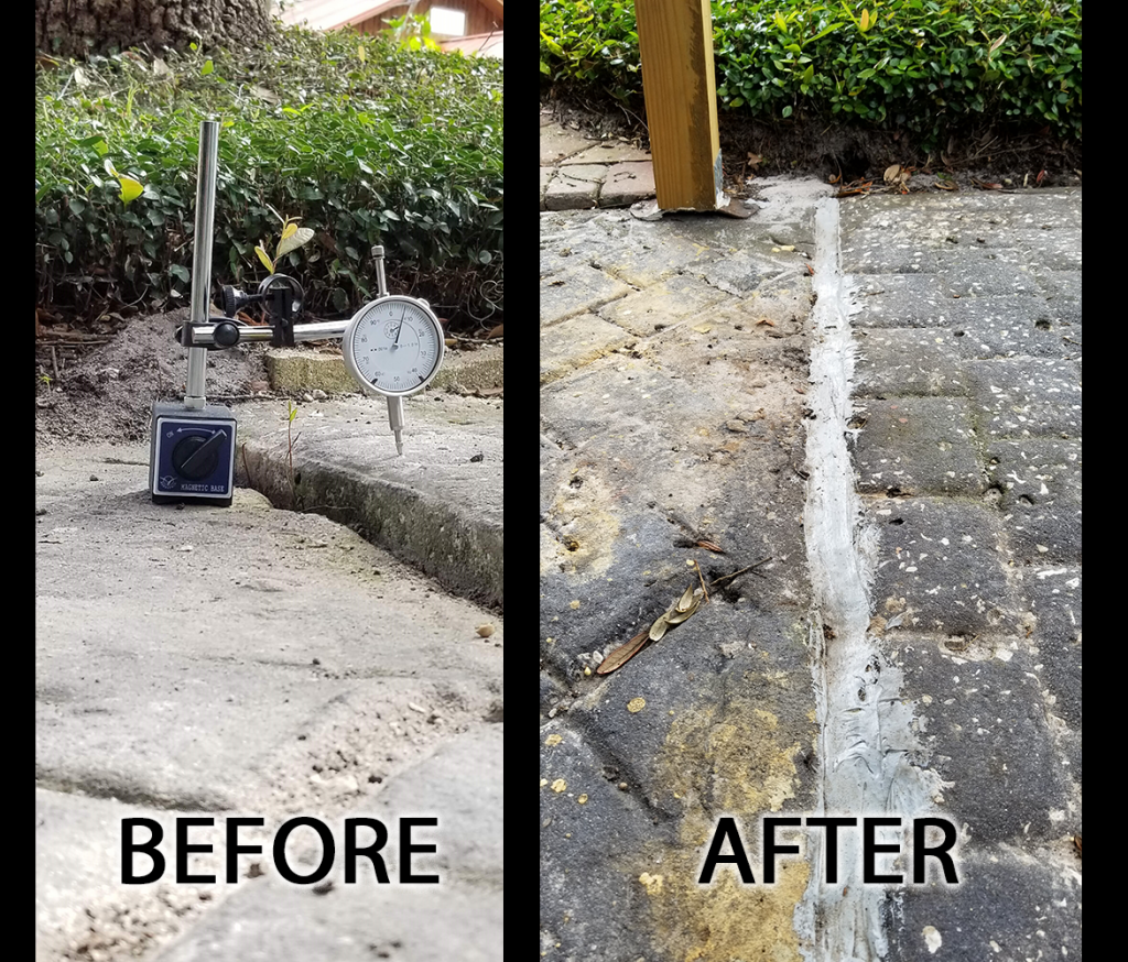 Repair Sinking Carport Concrete